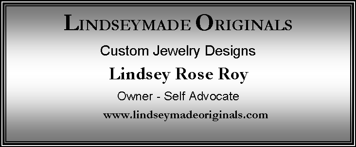 lindsey made originals ad biz card size ad